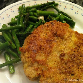 Paleo Almond Crusted Pork Loin Chops.