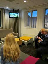 Photo: A po koncercie oglądanie końcówki meczu Holandia-Hiszpania