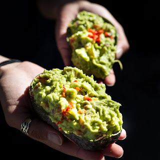 Spicy Asian Inspired Guacamole Dip.