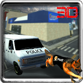 Police Dog Crime 3D