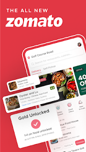 Zomato – Restaurant Finder and Food Delivery App Mod 15.2.6 Apk [Unlocked] 1