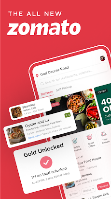 Zomato - Restaurant Finder and Food Delivery Appのおすすめ画像1