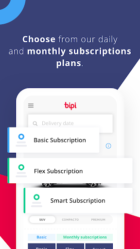 Bipi - Monthly subscriptions to cars  screenshots 3
