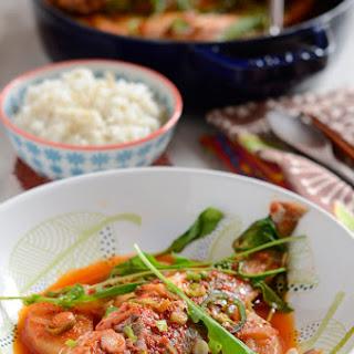 Spicy Yellow Croaker Fish Stew, Jogi MaeUn-Tang