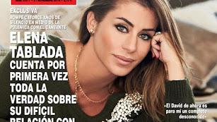 Detalle de la portada de la publicación para la que ha hablado Elena Tablada.