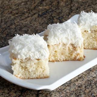 Southern Coconut Poke Cake Recipe