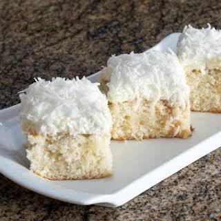 Southern Coconut Poke Cake.