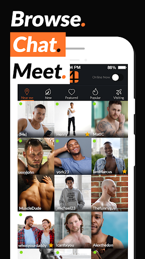 Adam4Adam - Gay Chat & Dating App - A4A - Radar Apk 1