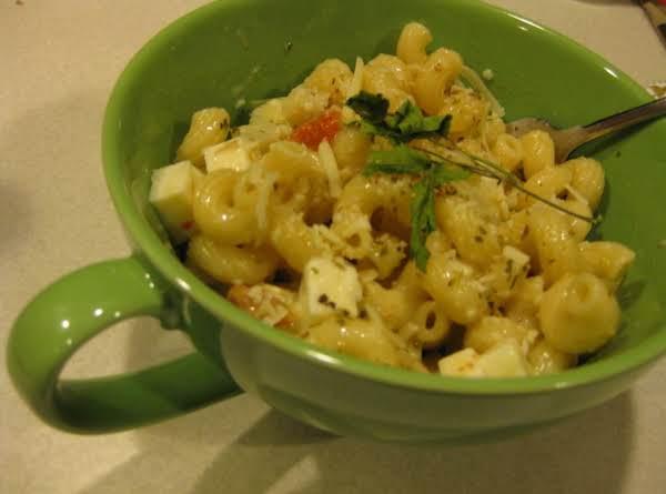 Artichoke Parmesan Pasta Salad Recipe