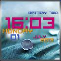 Timewall Clock Wallpaper free icon