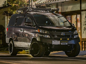 """ヴェルファイア ANH25W 2.4Z""""Gエディション""""_7人乗り_4WDのカスタム事例画像 akky-52さんの2021年09月12日18:59の投稿"""