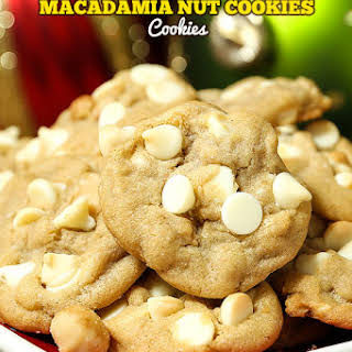 Best Ever White Chocolate Macadamia Nut Cookies.