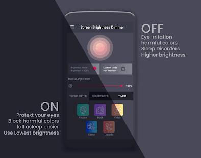 Screen Brightness Dimmer(BlueLight Filter)#adsfree 1
