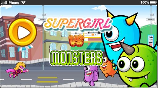 Supergirl VS Monsters