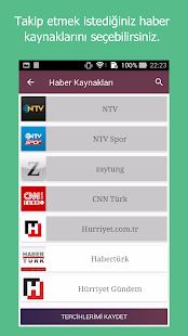 Haber Takip, Son Dakika Haberler - náhled