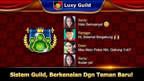 Luxy Poker-Online Texas Holdem Screenshot