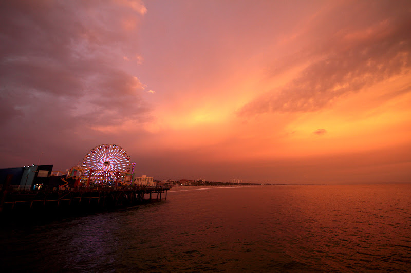 Luna park in the sunset di kaira