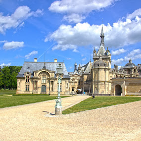 Chantilly by Alin Gavriluta - Buildings & Architecture Public & Historical