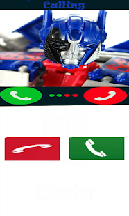 Real call Optimus Prime - náhled