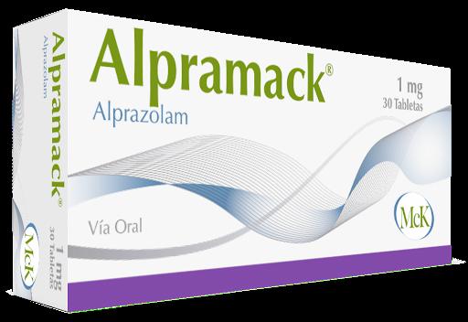 Alprazolam Alpramack 1mg 30 Tabletas