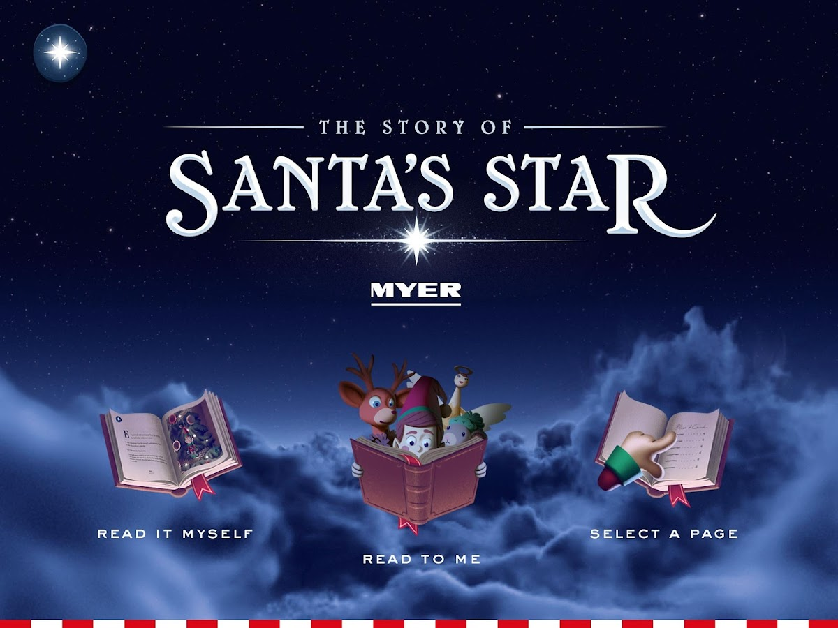 MYER:The Story of Santa's Star- screenshot