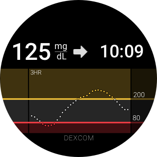 Dexcom G5 Mobile- screenshot