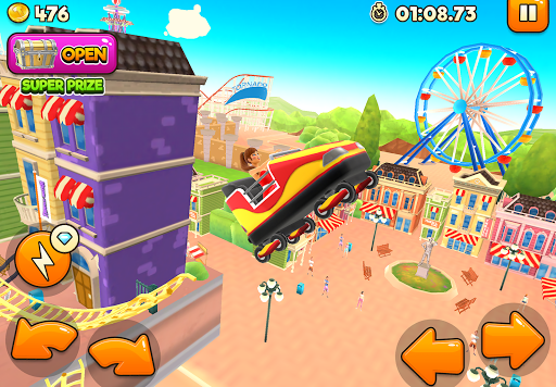 Thrill Rush Theme Park captures d'u00e9cran 2