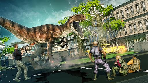 Télécharger gratuit Dino Hunter Sniper 3D: Dinosaur FPS gratuit Tir APK MOD 1