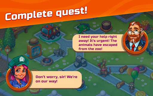 City Rescue Team: Time management game apkpoly screenshots 12