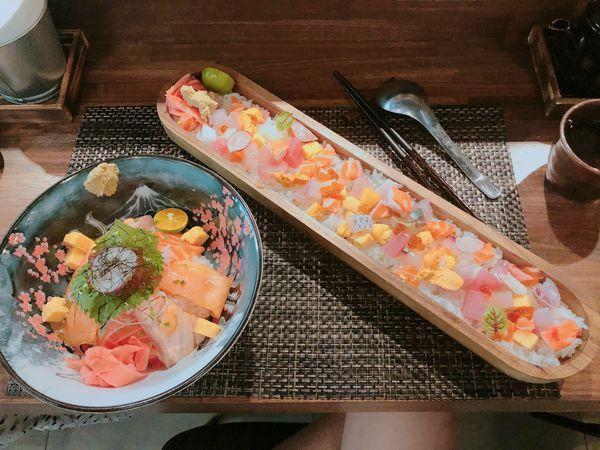 嵐山食肆唯美日式料理~超吸睛長木碗丁丁丼飯!