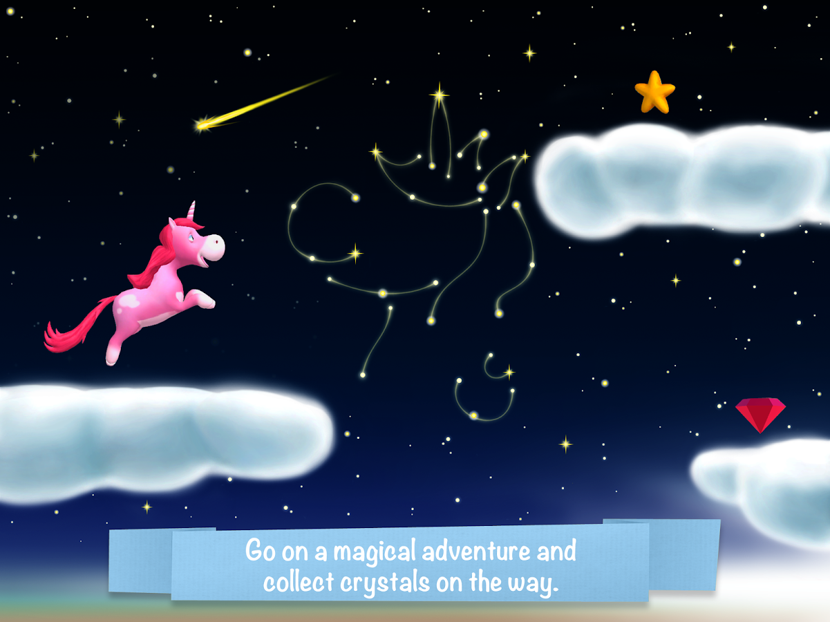 Unicorn Glitterluck Adventure- screenshot