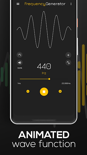 Frequency Sound Generator screenshot 2