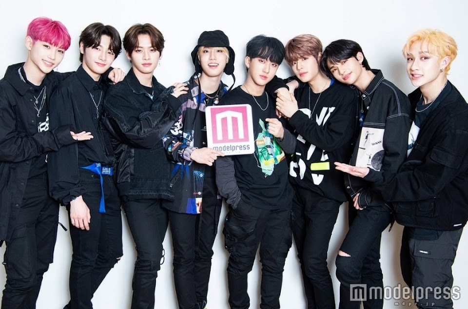 stray kids modelpress