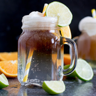 Spiced Rum Float.