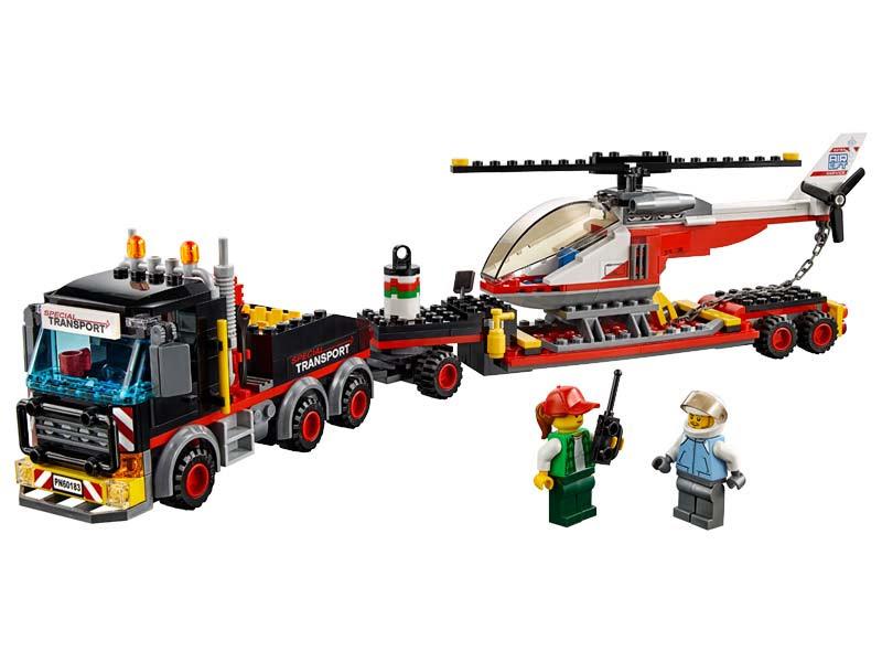 Contenido de Lego® 60183 Camión de Transportes de Mercancía Pesada