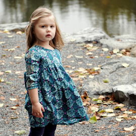 By the lake  by Todd Reynolds - Babies & Children Child Portraits