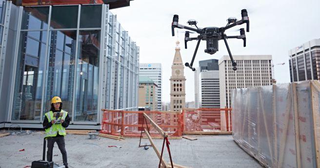 utilização de drones na construção civil
