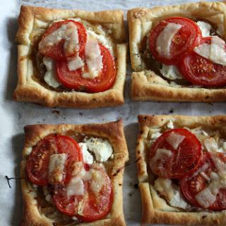 Tomato & Goat Cheese Tarts Recipe