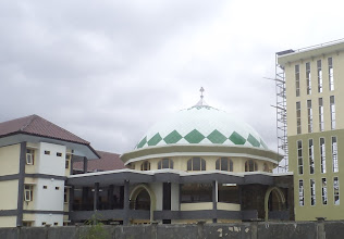 Photo: Kubah masjid IAIN mataram NTB