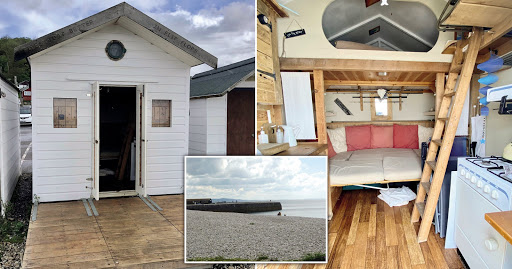 Beach hut in Dorset town is on sale for £45k – but there's a catch