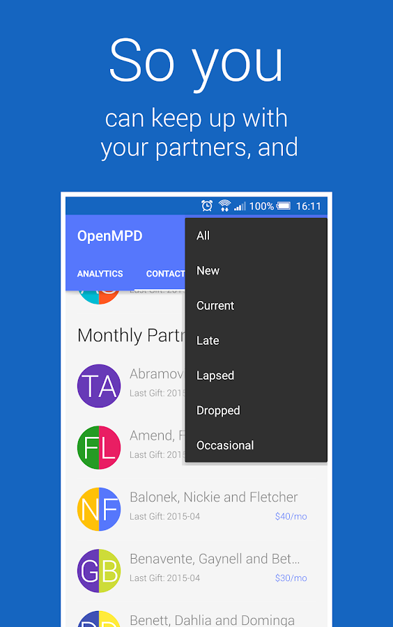OpenMPD- screenshot
