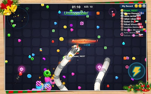 Snake Candy.IO – Multiplayer Snake Slither Game 7