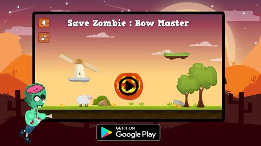 Télécharger Gratuit Save Zombie : Bow Master apk mod screenshots 1