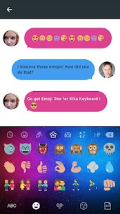 Emoji one Emoji Keyboard - náhled