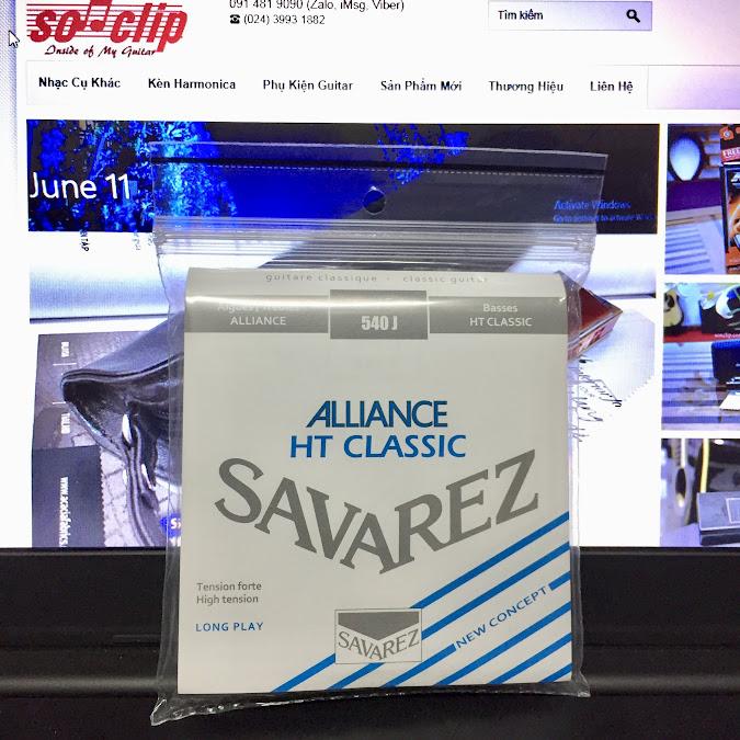 Dây Đàn Guitar Classic - Savarez 540 J