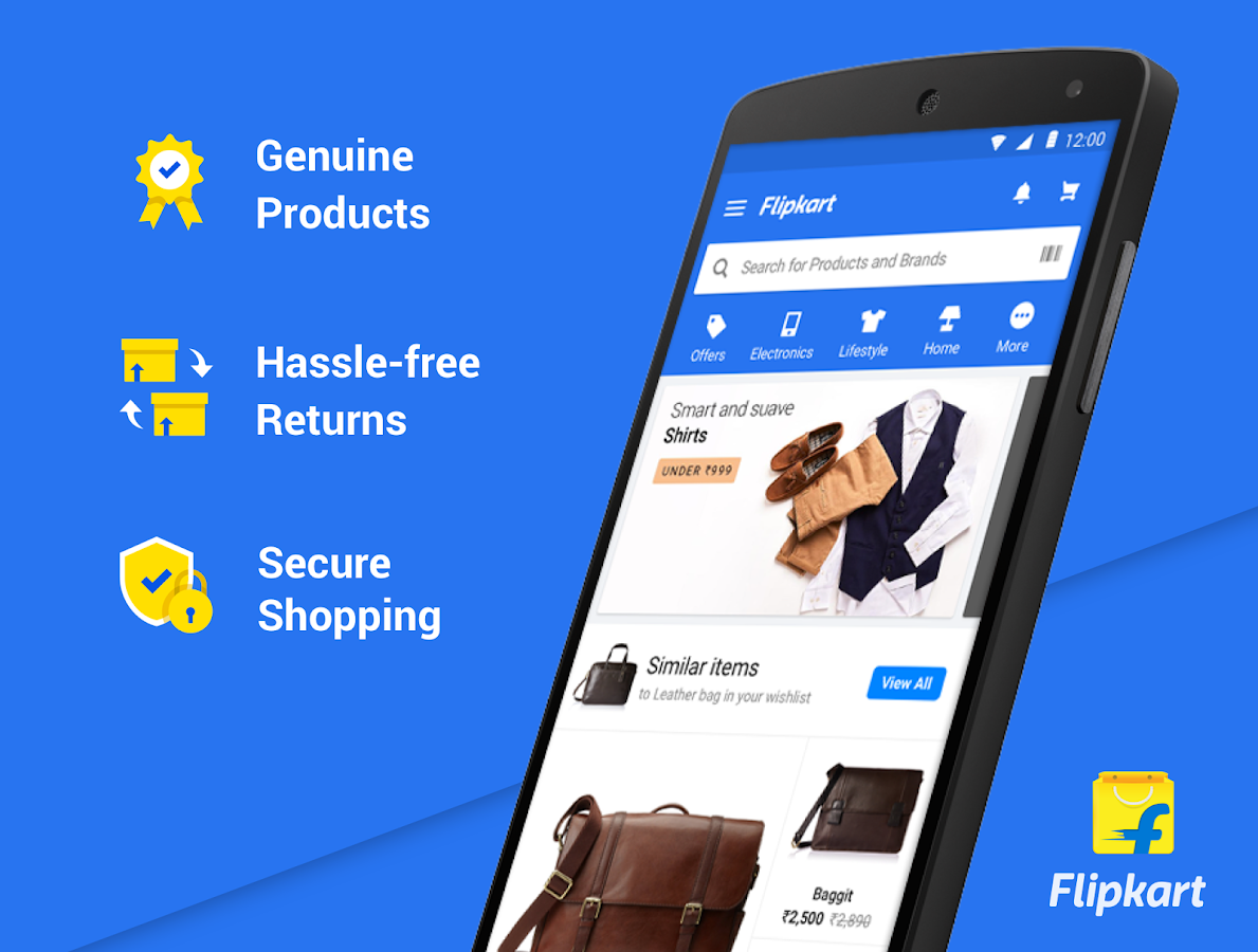 Screenshots of Flipkart Online Shopping App for iPhone