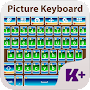 Picture Keyboard Theme APK icon