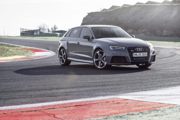 RS3 Sportback. Picture: QUICKPIC