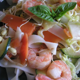 Summer Shrimp Rice Noodles