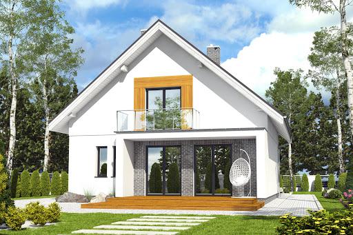 projekt Dom Dla Ciebie 6 bez garażu B